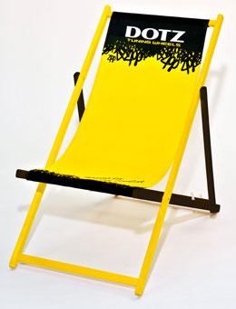 Holzliegstuhl Classic - zweifarbige Holzlasur