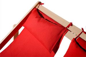 Doppel-Liegestuhl DUOLIEGE - Kopfkissen