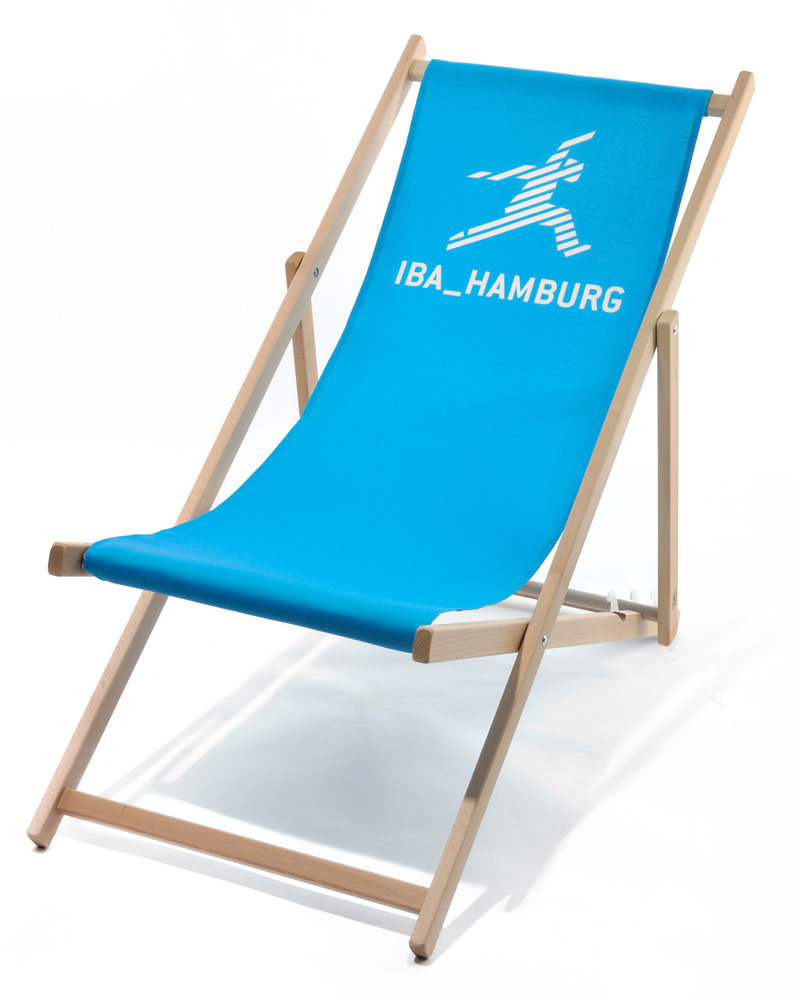 Holzliegestuhl FELLDBERG ohne Armlehne