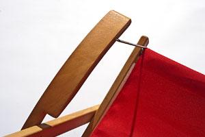 Holzliegestuhl BELCHEN – Detail