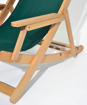 Holzliegestuhl RELAX - Detail